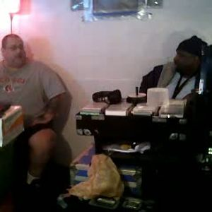 Dj's AzReal1 & Thomas Trickmaster E..Play'n 2 For 2 Song pt3. On Dj T Rock C's Music...L.M.Session.