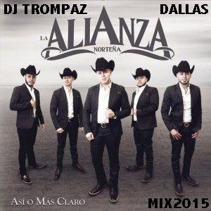 Dj Trompaz Dallas Presenta:La Alianza Nortena-Asi O Mas Claro 2015 cd