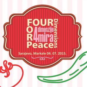 Des Punaises dans l'crépi- PresqueLive from Sarajevo- Soup4Peace-03/07/2015- 18h