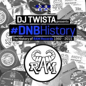 #DNBHistory 001 - RAM RECORDS - DJ TWISTA