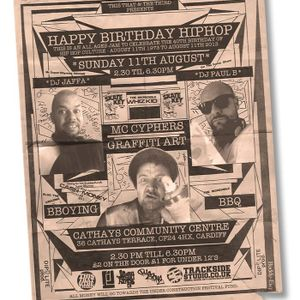 Live@Happy Birthday Hip Hop 11/8/13