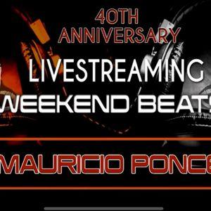 Set LiveStreaming 40 Aniversario de DJ de Mauricio Ponce by DJ VOLTRON
