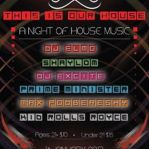 Dubtona Fidget House Re~Rub 1-16-13 @ 509 By Daytona's Dj Excite & The Land Of Boom Studio's 1~A