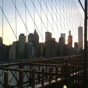 In God We Trust - Ep1 : Arrivée à NY - Pont de Brooklyn