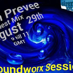 Zan Preveé - Groundworx Session Guest Mix @ SirenFM 29.08.2012