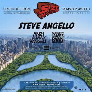 Sunnery James & Ryan Marciano – Live at Size In The Park (Central Park NYC) – 22.09.2012