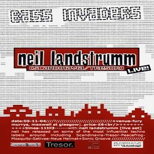 Neil Landstrumm (Live PA) @ Bass Invaders - Fury Murrys Glasgow - 05.11.2004