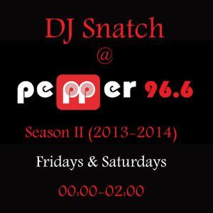 DJ SNATCH @ PEPPER96.6 S02E05 (11.10.2013)