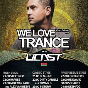 We Love Trance Club Edition #23 with UCast (18.03.2017) mixed by Stettiner