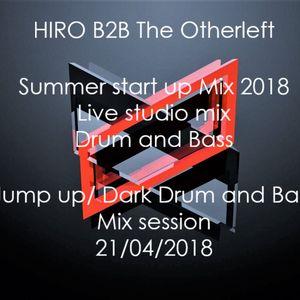HIRO b2b The Otherleft Studio live Mix session