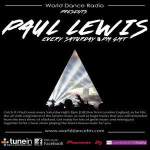 PAUL LEWIS PLAYING LIVE ON WORLDDANCEFM.COM ON 31/12/16