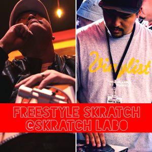 DJ $HIN + DJ IQ - Freestyle Skratch (Dec, 2014)@Skratch Labo