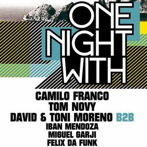 ONE NIGHT WITH Camilo Franco 2011