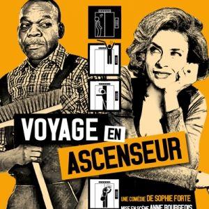 Interview Corinne Touzet  - Voyage en Ascenseur #Avignon #OFF2017