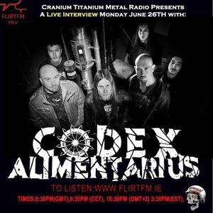 Cranium titanium 20170626 Part 2 Feat.Codex Alimentarius