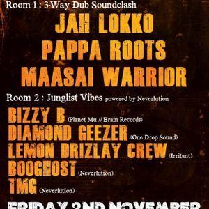 BOOghost @ Bristol Dub Club, Nov 2012 (The Car Sub-woofer Special)