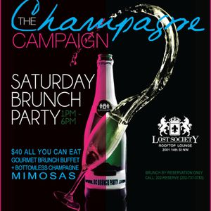 Champagne Campaign Brunch 8.4.12 feat Moh Ducis live set (July EDM Club box)