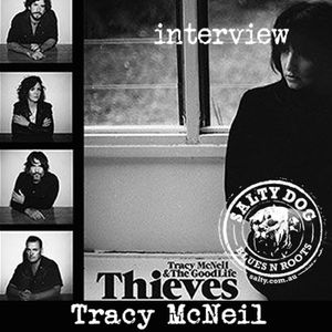 Tracy McNeil and the Good Life - Salty Interview (June 2016)