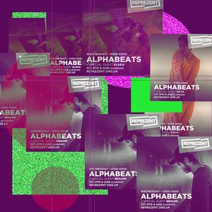 ALPHABEATS w/ Alicia & Special Guests Neguim + Elkka + Kaya Aragniz - 25th May2017