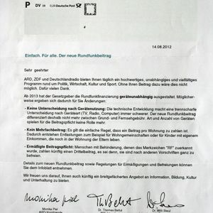 ÉMISSIONS DE L'ART VISIONNAIRE #3 - Rundfunkbeitrag Zahlungstreik(2014 - 03 - 30)