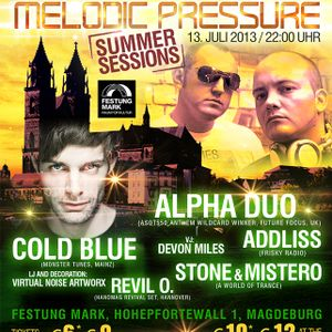 Addliss live @ Melodic Pressure Summer Sessions (13-07-2013)