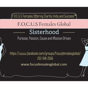 Lets talk about people pleasers on FOCUS Females Global Chat Cafe
