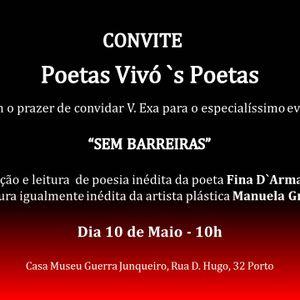 Poetas Vivos Poetas - Homenagem a Fina D'Armada.