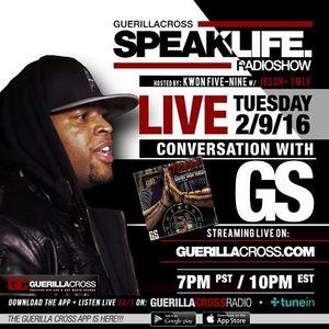 SPEAKLIFE Radio: Conversation w/ GS [Episode 10.3]