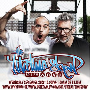 The Halftime Show w/DJ Eclipse, Stretch & Bobbito and DJ Homicide 89.1 WNYU September 23, 2015