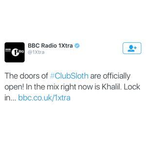 BBC 1xtra Club Sloth Guestmix - 11th Dec '15