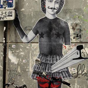 """Le mouchard Emission #14 avec Madame Moustache """"Collage et street art"""""""