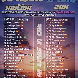 Perceptive Motion B-Day 2011 - Akku Guest Mix