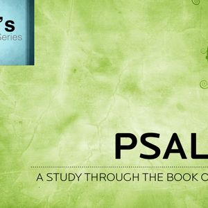 Study In Psalms - Imprecatory Psalms (Audio)