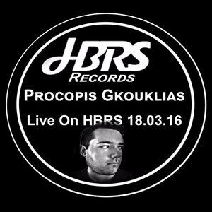 Procopis Gkouklias Live On HBRS 18.3.2016