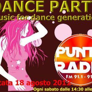 Dance Party: Puntata del 18 agosto 2012