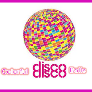 Colorful Disco Balls