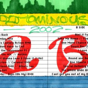 Back in the Days Mix Tape Side A