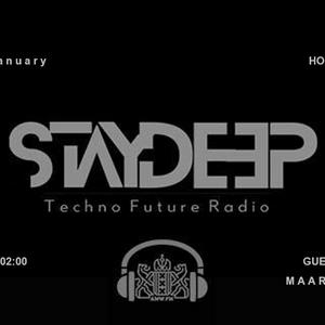 Maarton @ AMW.fm - StayDeep - Techno Future Radio - Amsterdam, January 7, 2018