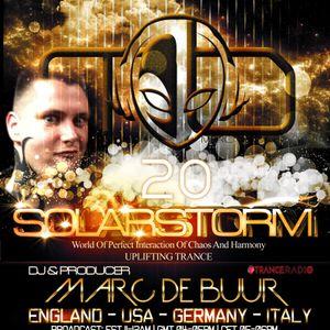 Marc de Buur pres. Solarstorm #020 [Tranceradio.FM]