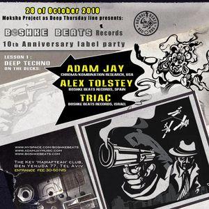 Adam Jay Live at The Key Club, Tel Aviv, Israel 10-28-2010