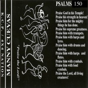 Manny Cuevas - A Ministry In My Music (Psalms 150) - WNYU NYC - November 22nd. 1998' (Side B.)