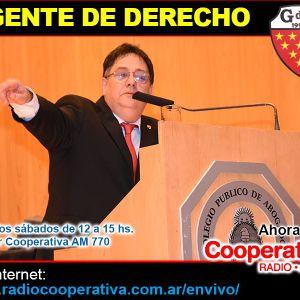 04/06/2016 3°Hora: Asunción del Dr Rizzo como presidente del CPACF - Zaffaroni y su suspensión.