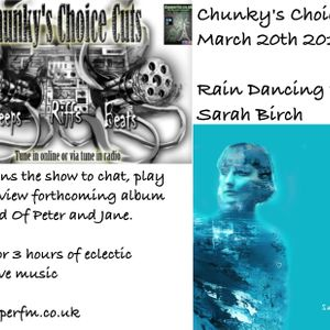 Rain Dancing with Sarah Birch CCCMarch 2019