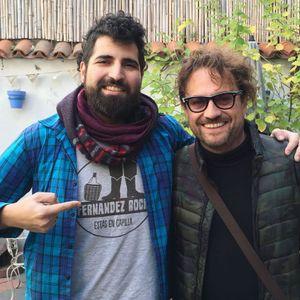 Nos visitó Mauro Conforti y tocó unas canciones antes de su show en La Tangente