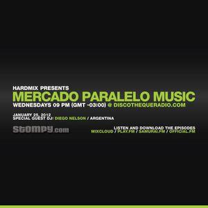 dj guess@Mercado Paralelo Music Radio Show by Hardmix - 25-1-2012 - Brasil
