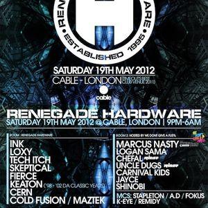 Renegade Hardware - 01 - Loxy feat. MC Fokus (Cylon, Renegade Hardware) @ Cable - London (19.05.12)