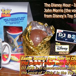 """POPcorn Goes Musical, DJ BOB's John Morris (voice of """"Andy"""" from Toy Story) Interview"""