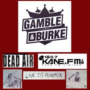 GAMBLE & BURKE MINIMIX  KANE FM DEAD AIR RADIO