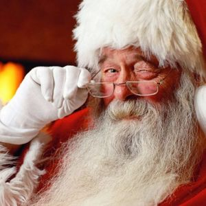 Santa Claus on the day after Christmas on ABD SIZZLE