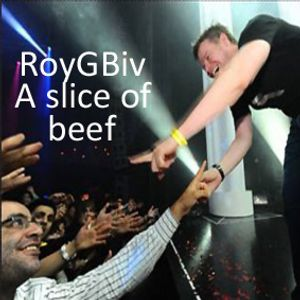 RoyGBiv - a slice of beef